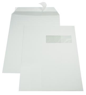 Gallery enveloppes, ft 229 x 324 mm (C4), bande adhésive, fenêtre à droite (ft 40 x 110 mm)