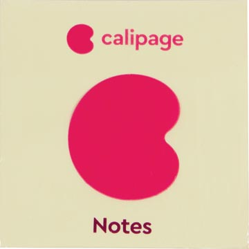 Calipage Re-Move Notes, ft 76 x 76 mm, jaune
