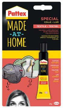 Pattex Made At Home colle textile tube 20 g sous blister
