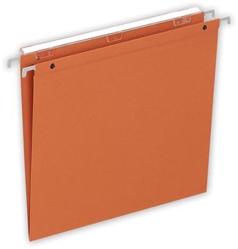 Pergamy dossiers suspendus Medium Flex, ft A4, fond en V, orange