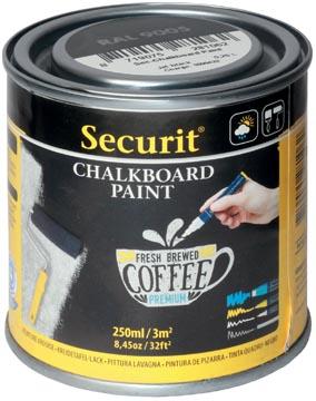 Securit peinture ardoise 250 ml, noir