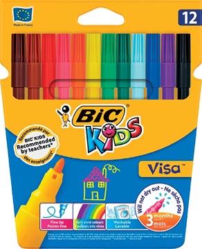 Bic Kids feutre Visa, 12 feutres