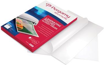 Pergamy pochette à plastifier, ft A3, 150 microns (2 x 75 microns), paquet de 100 pièces