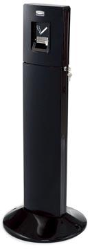 Rubbermaid collecteur des cigarettes Metropolitan, ft 43 x 109 cm, noir