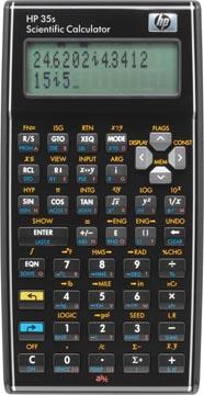 HP calculatrice scientifique 35S