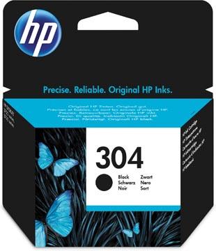 HP cartouche d'encre 304, 120 pages, OEM N9K06AE, noir