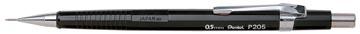 Pentel portemine pour mines de 0,5 mm, corps noir