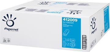 Papernet essuie-mains en papier, plié en Z, 2 plis, 20x 200 feuilles, blanc